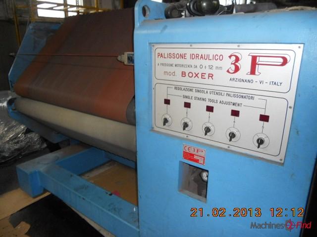 Staking machines - 3P - Boxer