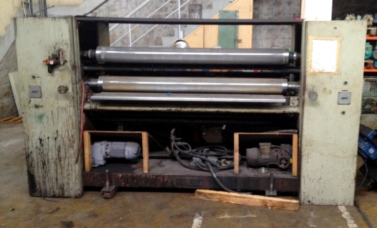Roller Coating Machines - Incoma - Rotoinco 1800/3S