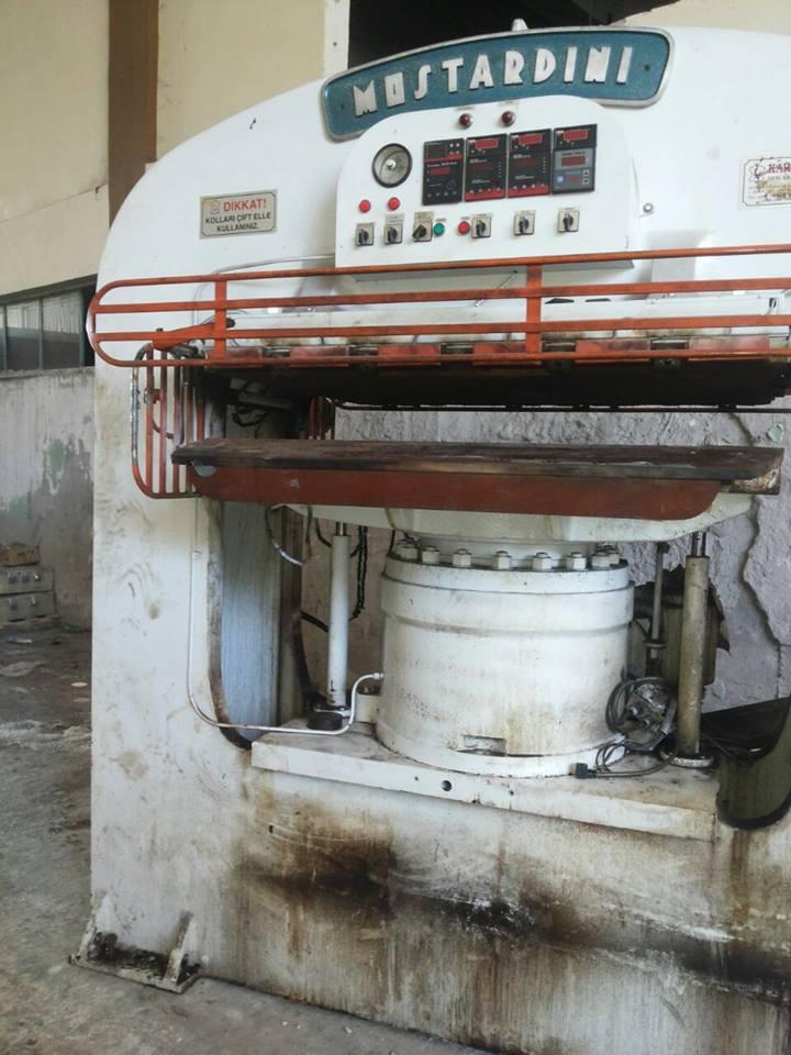 Presses, ironing & embossing - Mostardini - MP3MS