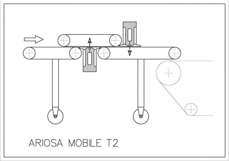 Dedusting machines - Bergi - Ariosa Mobile T2