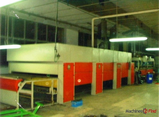 Spraying machines - Gozzini - Rotary spraying